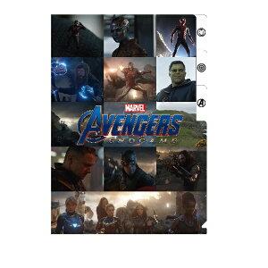 マーベル MARVEL アベンジャーズ Avengers 4 / 3ポケットクリアファイルC IG-3255