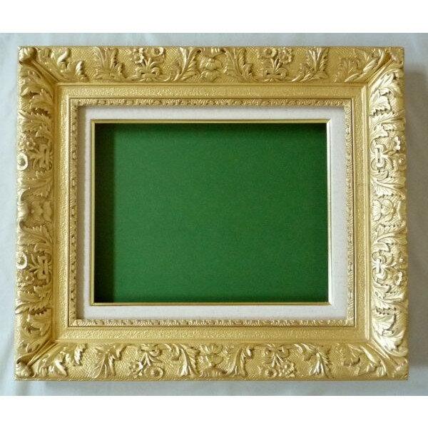 油絵 油彩額縁 7869 F12 ゴールド (アートフレーム)-新品