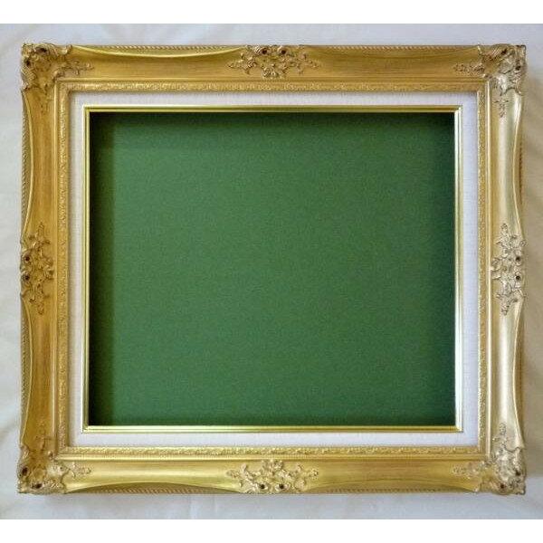 油彩額 油絵用額縁 ルイ14世 F15 金 -新品