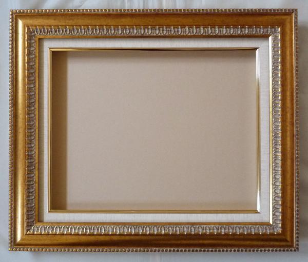 油彩 油絵用額縁 ダール 9805 F12 (P12,M12) ゴールド-新品