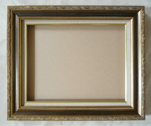 油彩額 油絵用額縁 フロール F15 P15 M15 金 ゴールド -新品