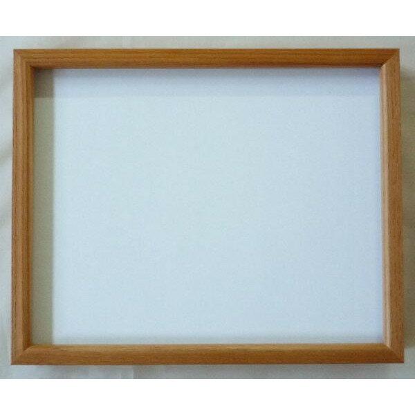 デッサン額 正方形の額縁 L型 200角(200X200mm) 木地-新品