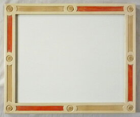 デッサン用 額縁 ポール水彩 大全紙(727X545mm) アイボリー -新品