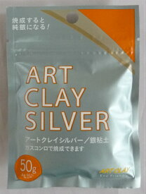 アートクレイシルバー 銀粘土50g-新品- (ART CLAY SILVER)