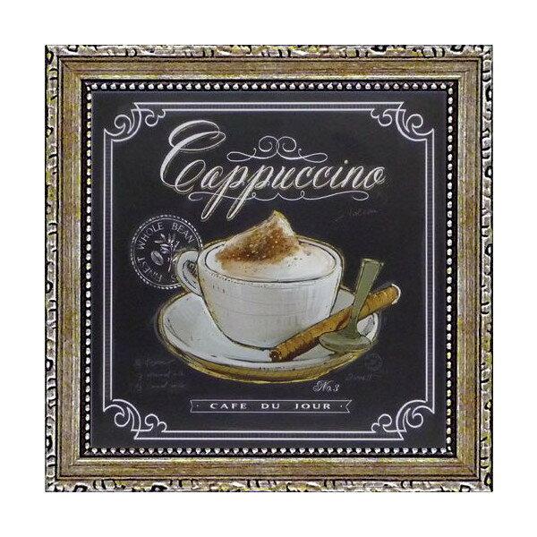 ミニゲル アートフレーム チャド バレット「コーヒー ハウス カプチーノ」 CB-02013-新品