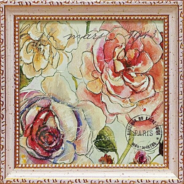 ミニゲル アートフレーム スタジオ ロフィーノ「フローラ ベラ2」 SR-02004-新品