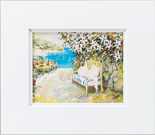 額縁付き 絵画 アートフレーム マルコ マヴロヴィッチ「ハッピーエンド」 MM-02508-新品