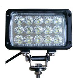 2個セットバック ランプ デッキライト フィッシング防水防震取付金具ステンレス304 ノイズレスLEDワークライト LED作業灯12v/24v兼用45W15連集魚灯看板灯投光器サーチライト1年保証