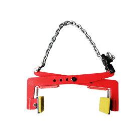楽天ランキング1位 デイリーランキング 固定工具部門 吊り具 木材クランプ 石材クランプ 300kg 0.3t クランプ 墓石 吊り具 吊具 はさむ つかむ開口幅:140mm-340mm