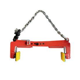 クランプ 墓石 吊り具 吊具 はさむ つかむ 吊り具 木材クランプ 石材クランプ 320kg 0.32t  開口幅260mm-500mm