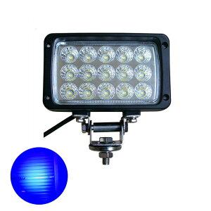 作業灯 led LED集魚灯 12v 24v 拡散 広角 45w 青色 ブルーライト LED 投光器 イカ アジ タチウオ 夜釣り シラウオ シラスウナギ 工事 バック ランプ デッキライト フィッシング LEDワークライト 45W 15