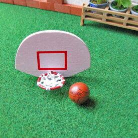 ミニチュア雑貨 バスケットボール&ゴールセット [NY61006][m-s]【 ネコポス不可 】【C】
