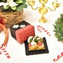 Xmas ミニチュアフード 雪だるまとサンタのクリスマススイーツ和BOX [品番:33888] [ミニチュア作家 京都まめひろ×コ…