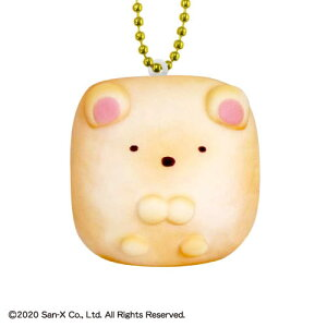 すみっコぐらし ちぎりパンスクイーズマスコット3 [1.しろくま]【 ネコポス不可 】【C】[sale200819]