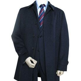 J.PRESS(ジェイプレス) ステンカラーコート カシミヤブレンド ウールコート ネイビー 075 XL
