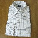 J.PRESS(Jプレス)ボタンダウンシャツ タッターソールチェック 青×黒 375 M LL