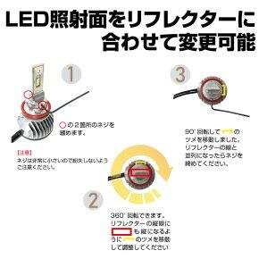 LEDヘッド部分の角度変更可能