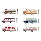 タルガタッカー1/110昭和おもひでバス5コレクションセット全6種セット金属缶入限定商品在庫小バスコレクションミニカー完成品送料無料