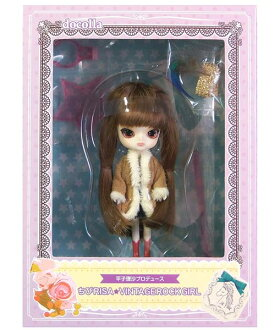 Price 3,990 Yen to 1,980 yen Groove docolla docolla Chibi RISA VINTAGE ROCK GIRL DAL Dal figure completed doll only