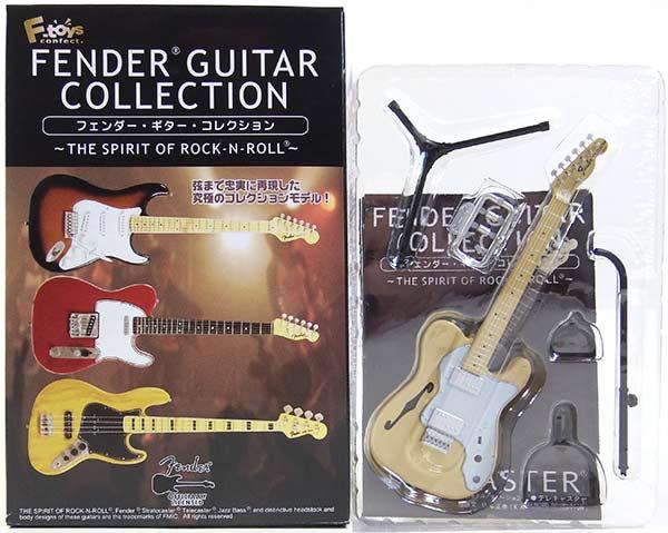 【2D】 エフトイズ 1/8 フェンダーギターコレクション THE SPIRIT OF ROCK-N-ROLL 72 テレキャスター シンライン (ナチュラル) ミニチュア 楽器 ギター ジャズ 半完成品 単品