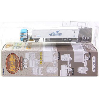 Tomytec 1 / 150 the-trailer collection No. 1 elastic-Japan container transport Hino profia + Japan Yusen refrigerated 40 ft N gauge track miniature semi-finished products separately