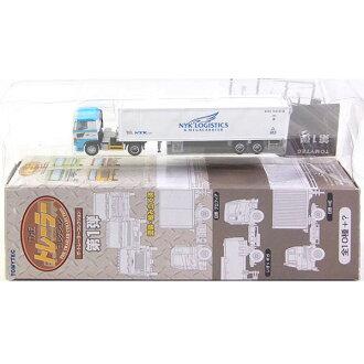 Tomytec 1 / 150 的拖车集合号 1 弹性日本集装箱运输日野 profia + 日本邮船冷藏 40 英尺 N 轨距轨道微型半成品的产品分开