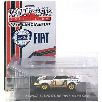 CM's seems Corporation 1 / 64 ラリーカーコレクション SS.18 secret LANCIA STRATOS HF (Stratos) 1977 mini completed