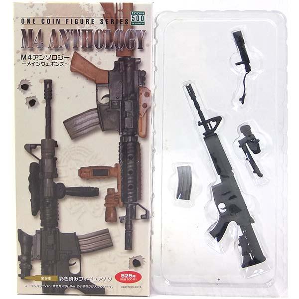 【6】 コトブキヤ 1/6 M4 アンソロジー メインウェポンズ M4 TYPE I ノーマルカラーVer 米軍 警察 SAT 自衛隊 特殊部隊 機関銃 ライフル 狙撃銃 ミニチュア フィギュア 半完成品 単品