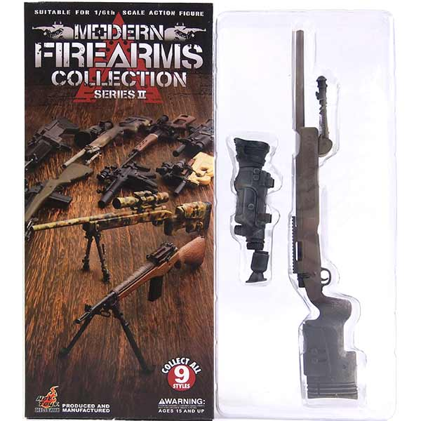 【2】 ホットトイズ 1/6 モダンファイアアームズ Vol.2 M40 w/ AN/PVS-10 ミリタリー ミニチュア 模型 銃 軍隊 自衛隊 特殊部隊 半完成品 単品