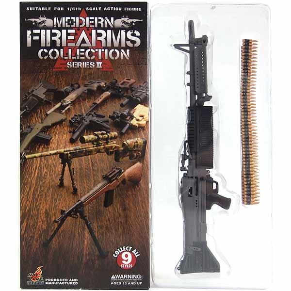 【1】 ホットトイズ 1/6 モダンファイアアームズ Vol.2 M60E1 GPMG ミリタリー ミニチュア 模型 銃 軍隊 自衛隊 特殊部隊 半完成品 単品
