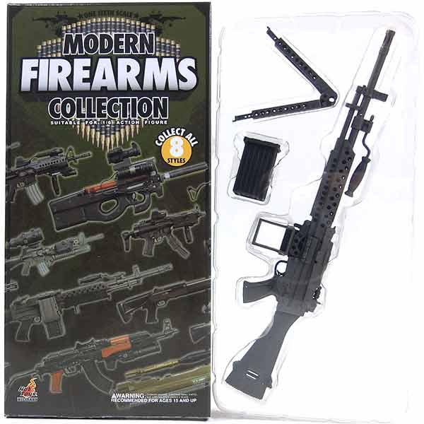 【5】 ホットトイズ 1/6 モダンファイアアームズ Vol.1 ストーナーM63/Stoner M63 with Ammunition Boxミリタリー ミニチュア 模型 銃 機関銃 軍隊 自衛隊 特殊部隊 半完成品 単品