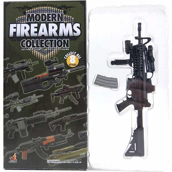 【3】 ホットトイズ 1/6 モダンファイアアームズ Vol.1 M4 CQBR ミリタリー ミニチュア 模型 銃 機関銃 軍隊 自衛隊 特殊部隊 半完成品 単品