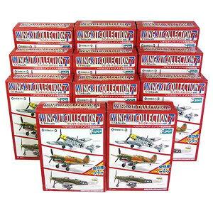 【11SET】 エフトイズ 1/144 ウイングキットコレクション Vol.7 シークレットを含む全11種セット 戦闘機 ミリタリー ミニチュア 半完成品 BOXフィギュア 食玩 単品