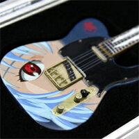 フェンダーギター エヴァンゲリオン レイ テレキャスター 限定 ギター REI−TELECASTER TYPE02 1/8MODEL エフトイズ・完成品モデル【即納】