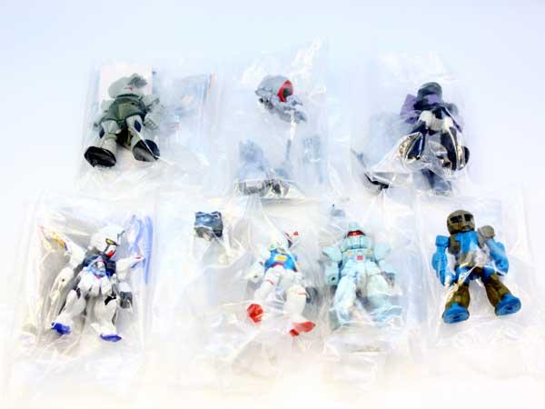 FWガンダム コンバージ8 アニメ ロボット 模型 食玩 バンダイ(シークレット付き全7種フルコンプセット【即納】