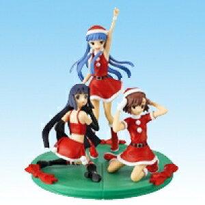 かんなぎ 組立式クリスマスフィギュア サンタ バンプレスト(全3種セット+ポスターおまけ付き)【即納】【05P03Dec16】