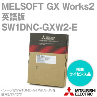 MITSUBISHI ELECTRIC SW1DNC-GXW2-E MELSOFT GX Works2 Standard license product (English version package) NN