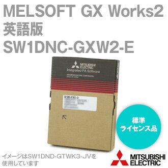 레이 돈 보관 미쓰비시 전기 SW1DNC-GXW2-E 시퀀서 엔지니어링 소프트웨어 MELSOFT GX Works2 (영어 버전) (표준 라이센스 품목 1 라이센스) NN