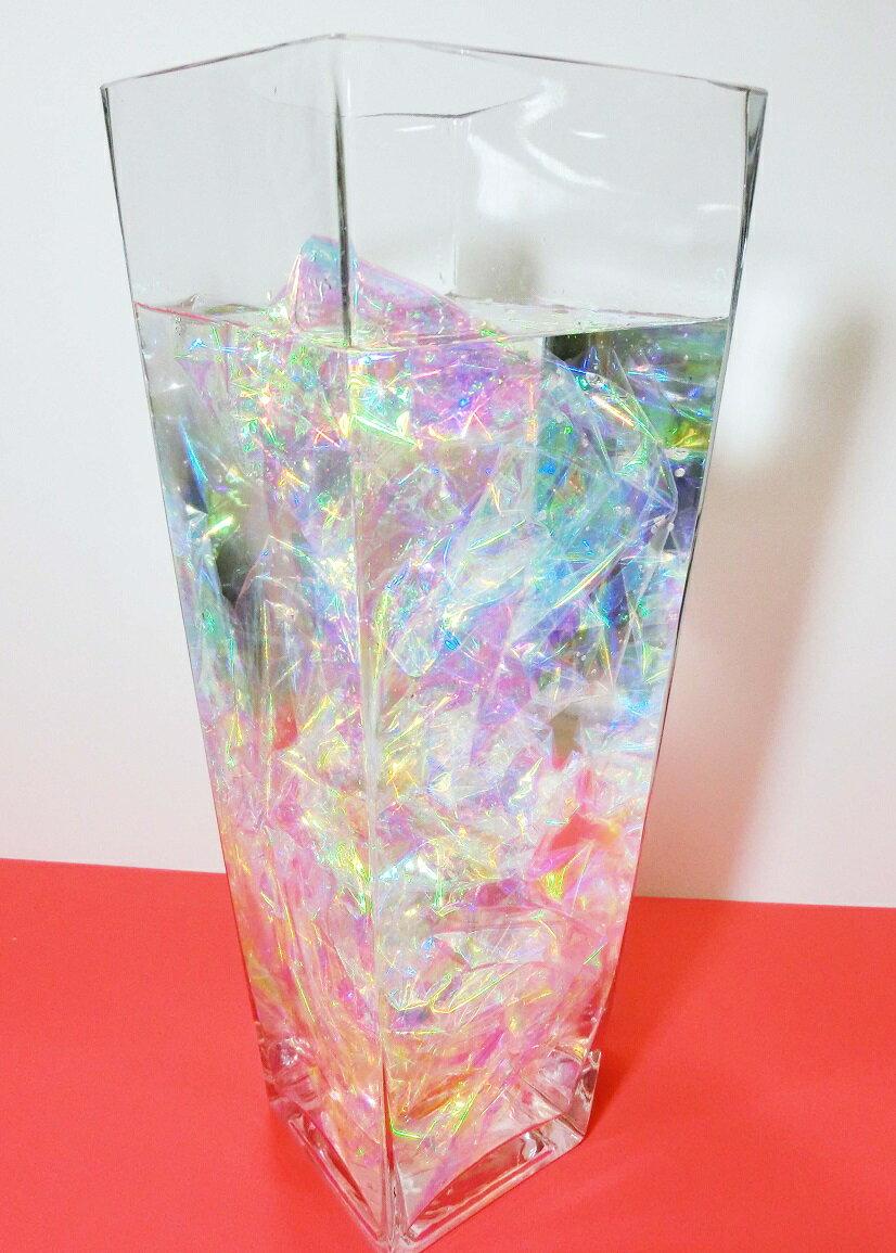 【オーロラフィルム】100cm×90cm/7色に輝く不思議なフィルム!装飾・インテリアに最適
