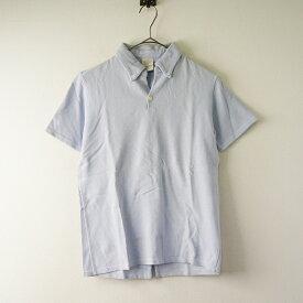 【期間限定60%OFF!】KAPITAL キャピタル コットン ボタンダウン ポロシャツ 1/ライトブルー ショートスリーブ トップス【2400020088480】