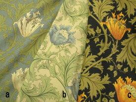 【生地 moda fabrics モダ ファブリックス】William Morris ウィリアムモリス  アネモネ柄オックス生地 3色30cm以上10cm単位販売 210m2