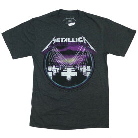新品 海外正規ライセンス Metallica Master Of Puppets Tシャツ グレー/メタリカ【あす楽対応_関東_甲信越_北陸_東海_近畿_中国_四国】【ゆうパケット対応】