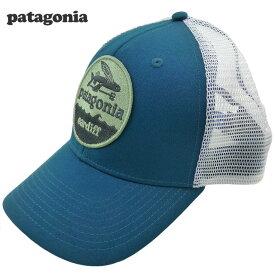 新品Patagonia Hat Patch Trucker キャップ 青 カーディフ限定 パタゴニア  80ea57a73283