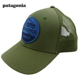 新品Patagonia Hat Patch Trucker キャップ Fatigue Green カーディフ限定 パタゴニア a7722f79373d