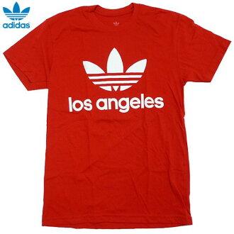 신품/adidas ORIGINALS/트레이닝 포일/Los Angels/LA한정/T셔츠/빨강/아디다스/오리지나르스/