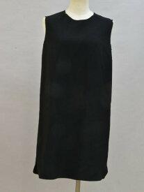 ミューズデドゥーズィエムクラス MUSE de Deuxieme classe トリアセテート ノースリーブ ワンピース ブラック レディース F-L5627【中古:良品】【ブランド買取販売トリヴァンドラム】180904