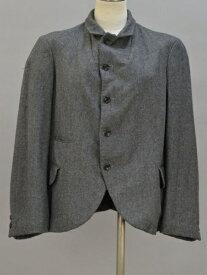 コムデギャルソン COMME des GARCONS ウール ジャケット Sサイズ グレー レディース F-L5685【中古:良品】【ブランド買取販売トリヴァンドラム】180906