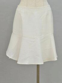 スピックアンドスパンノーブル Spick and Span Noble フレア スカート 38サイズ ホワイト レディース F-M10668【中古:美品】【ブランド買取販売トリヴァンドラム】180913