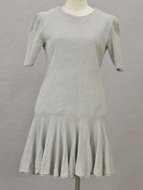 フォクシー FOXEY Classic Waldorf Dress ニットワンピース Sサイズ ライトグレー レディース F-L6335【中古】【ブランド買取販売トリヴァンドラム】181009