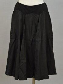 トリコ コムデギャルソン tricot COMME des GARCONS キュプラ スカート Sサイズ ブラック レディース F-M10980【中古:良品】【ブランド買取販売トリヴァンドラム】190313